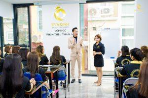 Hỗ trợ và tạo marketing cho học viên học phun xăm thẩm mỹ